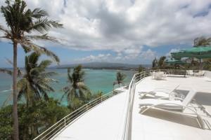 Boracay villa Roofdeck terrace